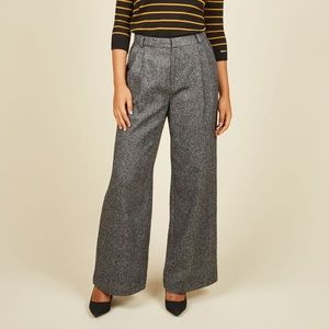 ModCloth Mentor of the Universe Wide Leg Pants S